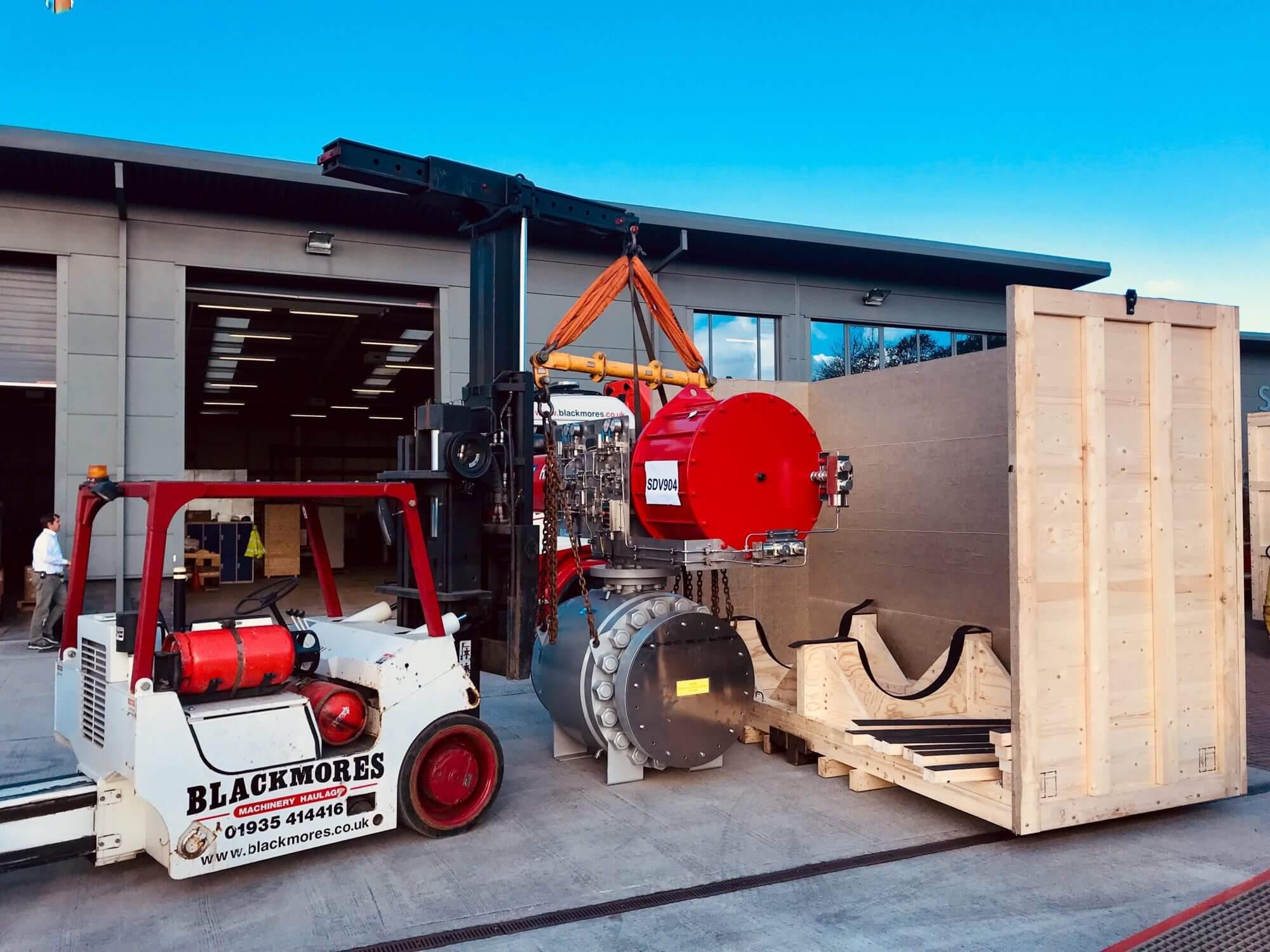 Versalift 25/35 Forklift