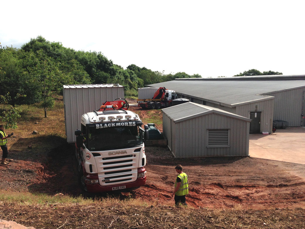 Boilerhouse Trucks Biomass