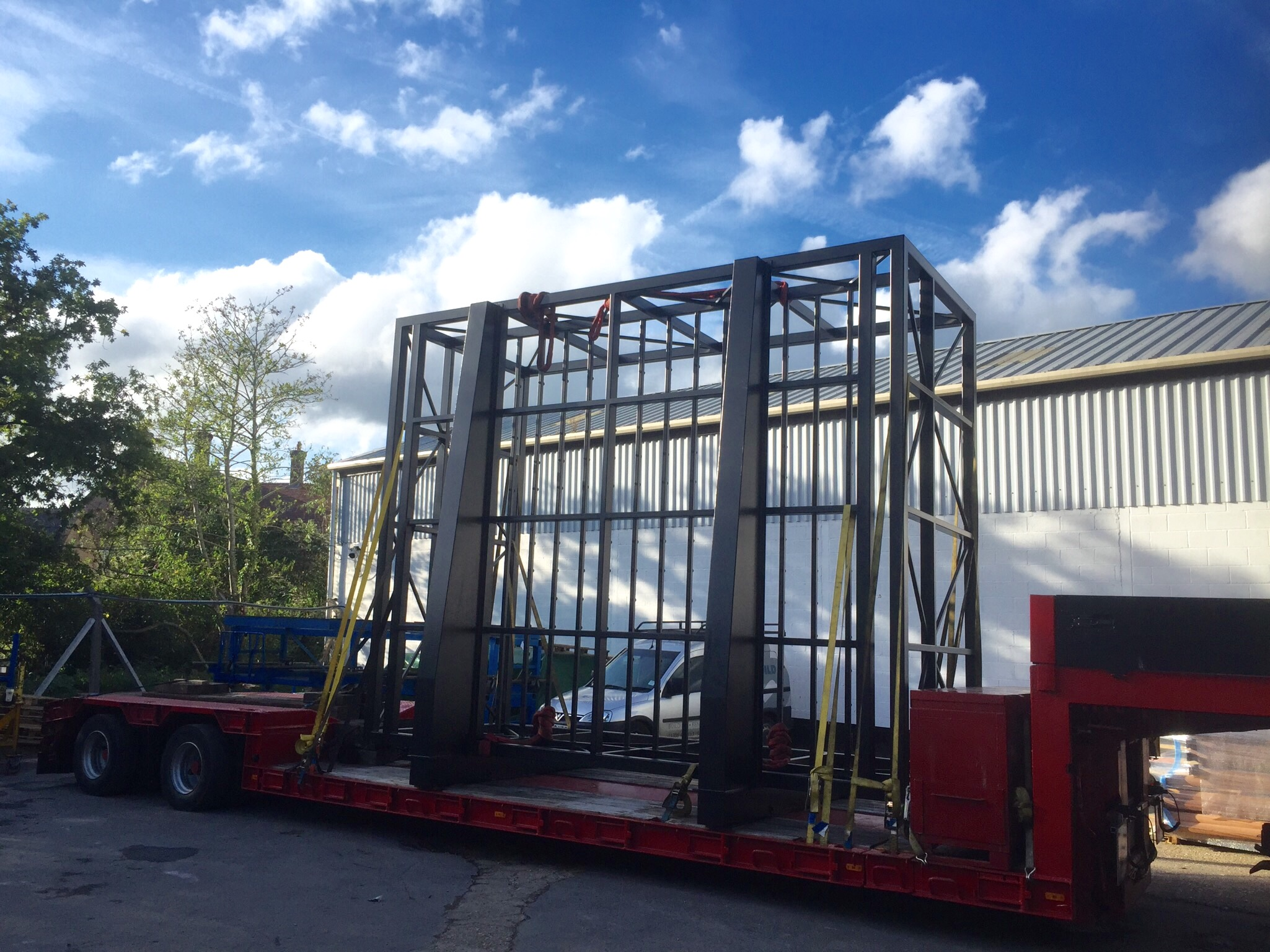 Hauling A Large Steel Frame