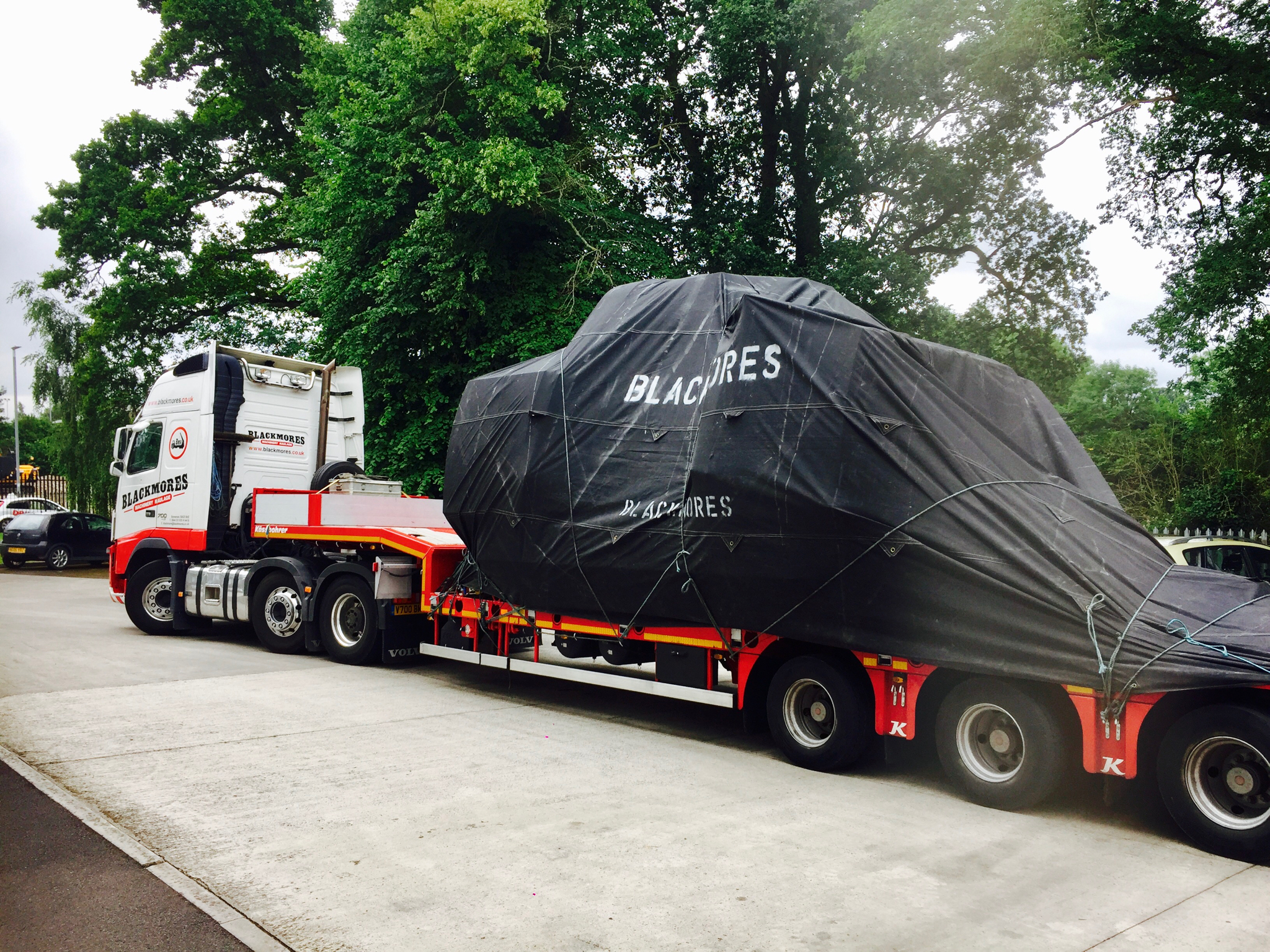 Blacmore Truck Extended
