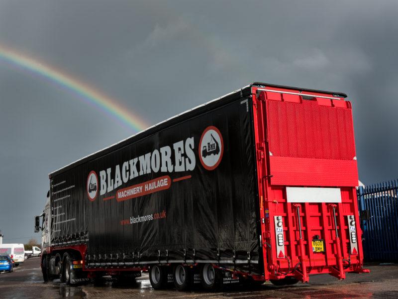Blackmores Forklift Trailer