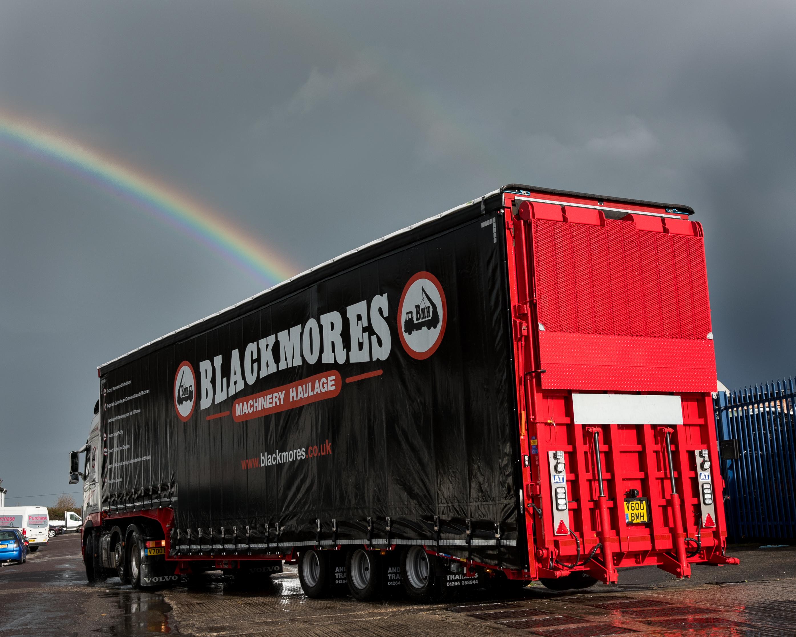 Blackmores Forklift Trailer