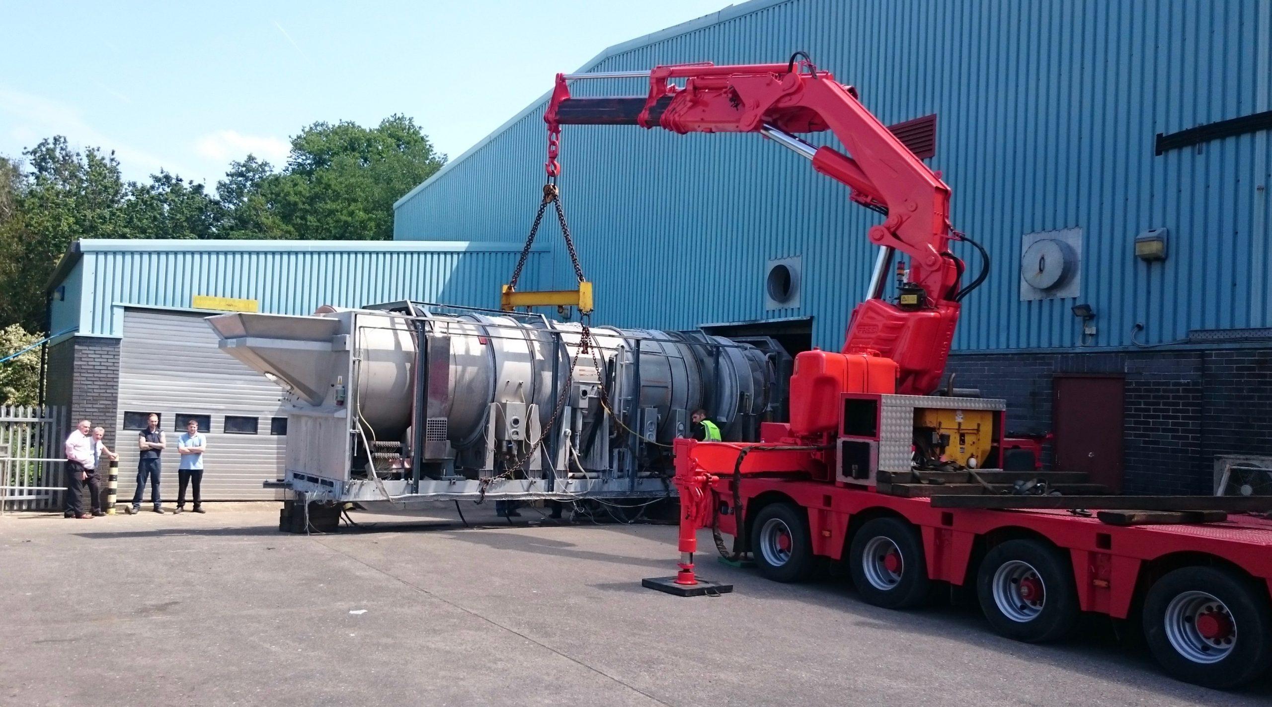 Crane Assisted Transport