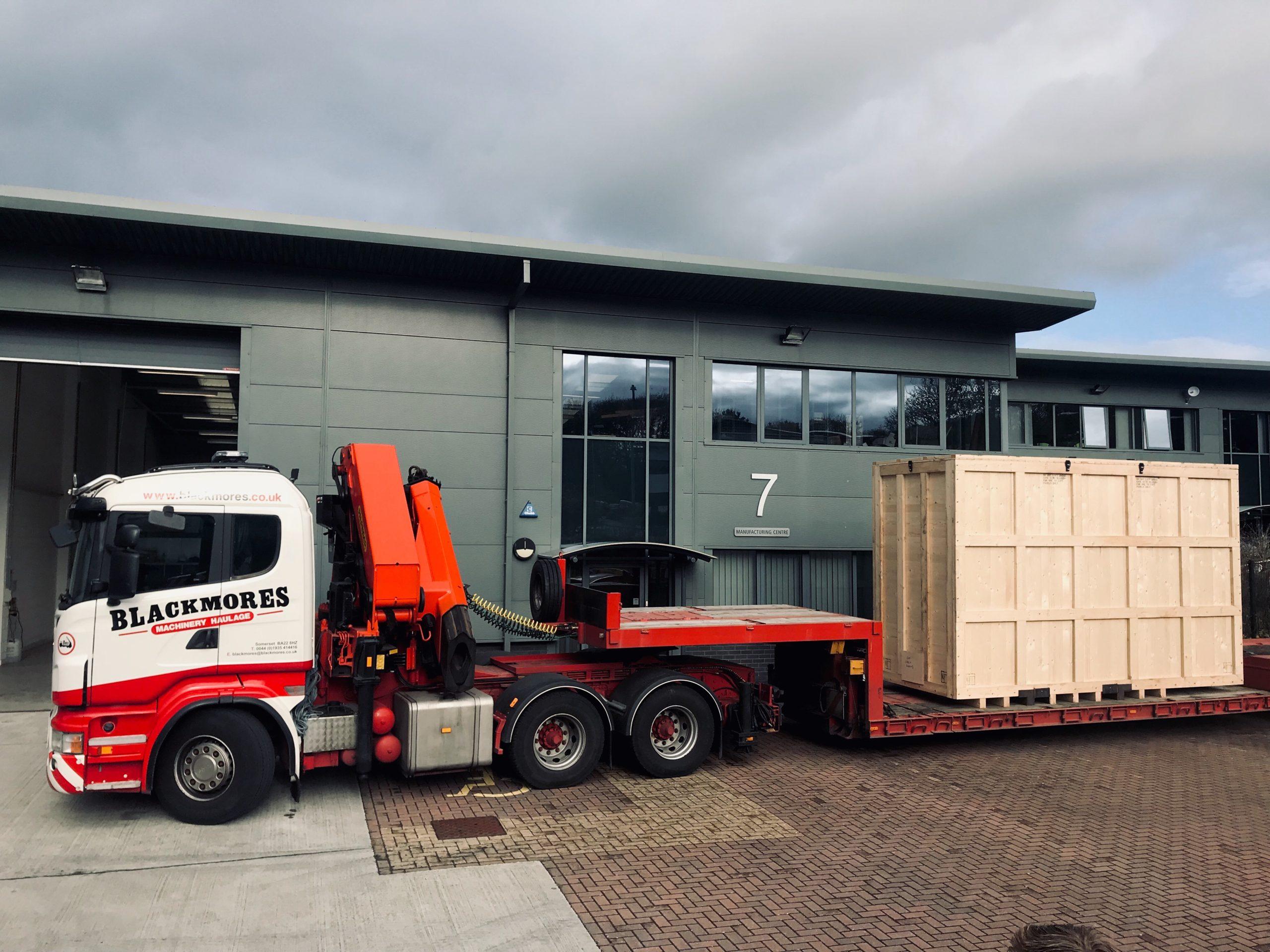 Blackmores Trucks with heavy goods